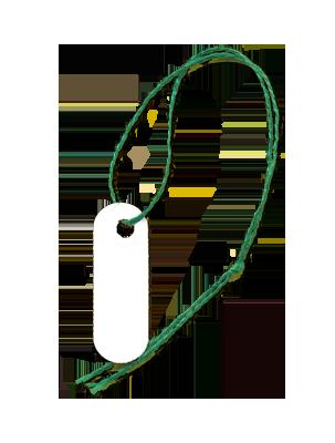 Popolare Etichette Filo Corto - Etichette con filo - Eredi Magnaghi HK04